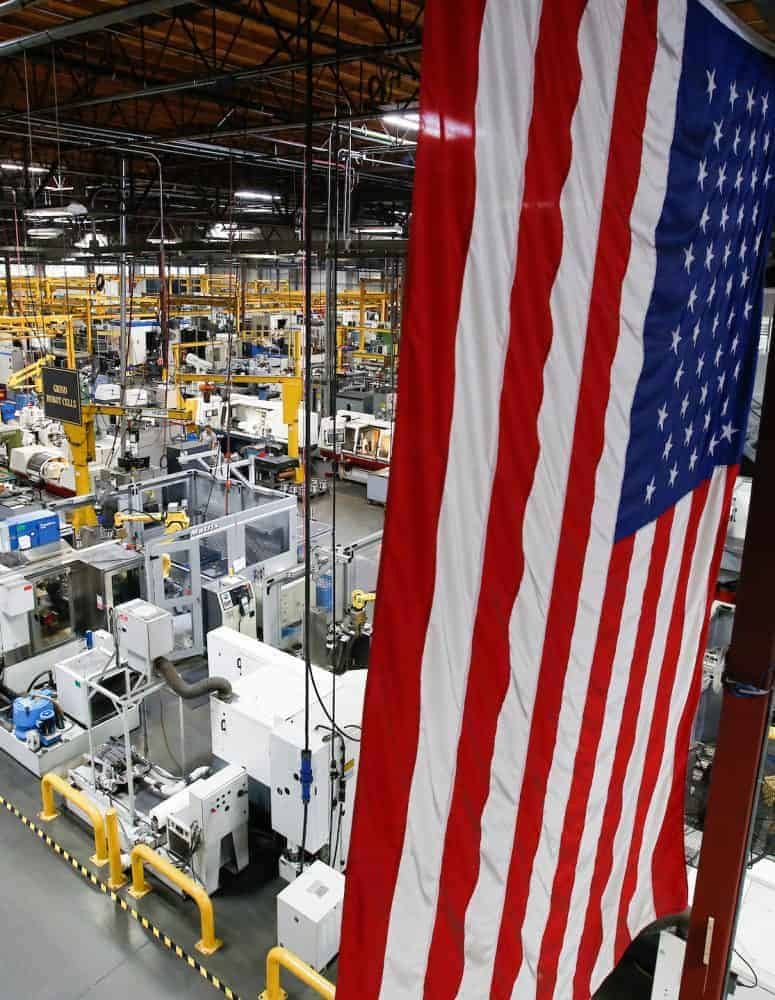 Rep  Budd Touts Tax Reform Benefits for Manufacturers at CR
