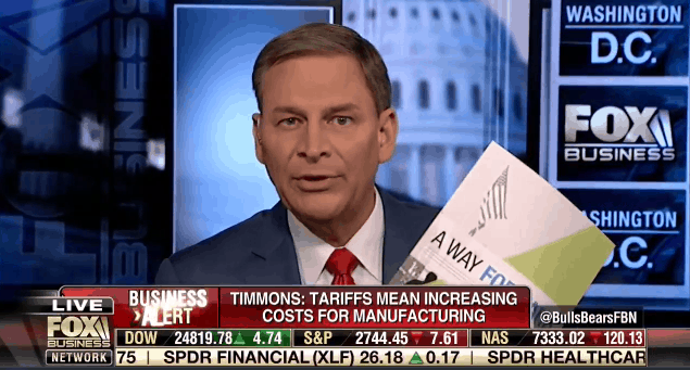 Jay Timmons on Fox Business talks about the NAM's A Way Forward immigration plan.