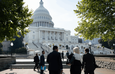 USMCA fly-in participants arrive at Capitol