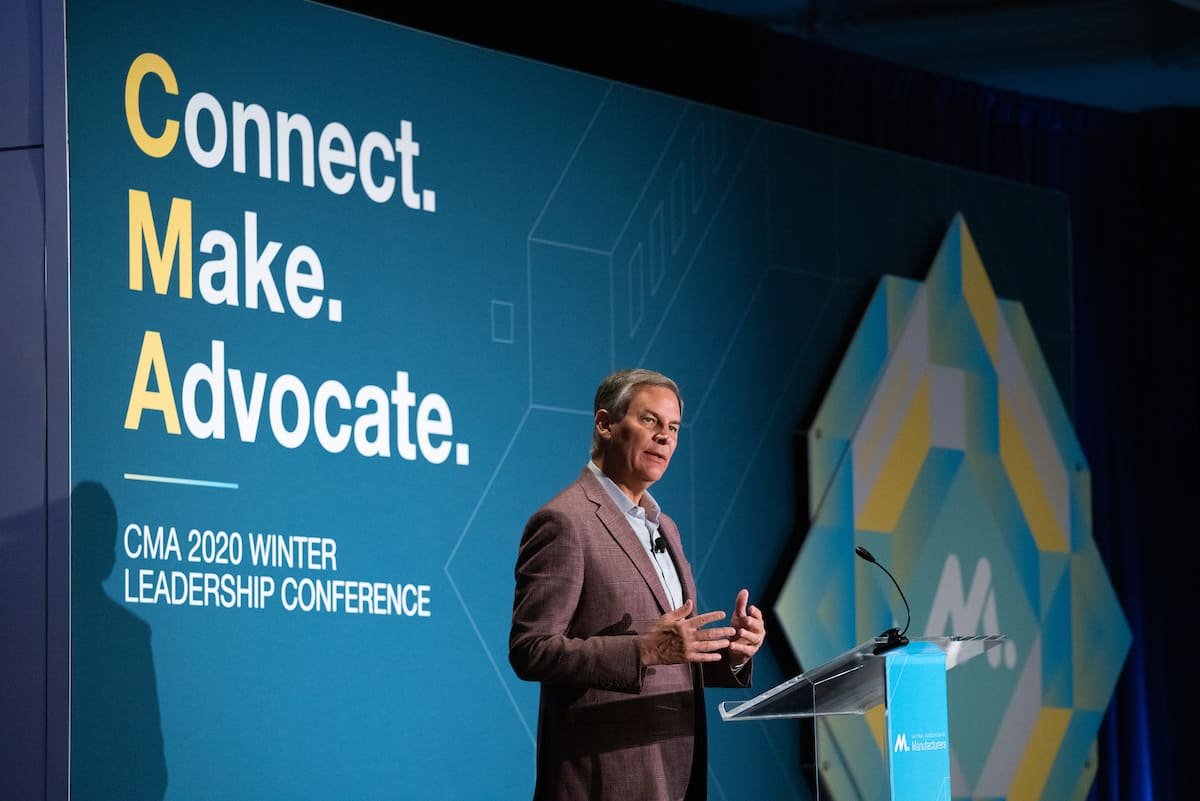 NAM CEO Jay Timmons Speaks at the 2020 CMA Winter Conference