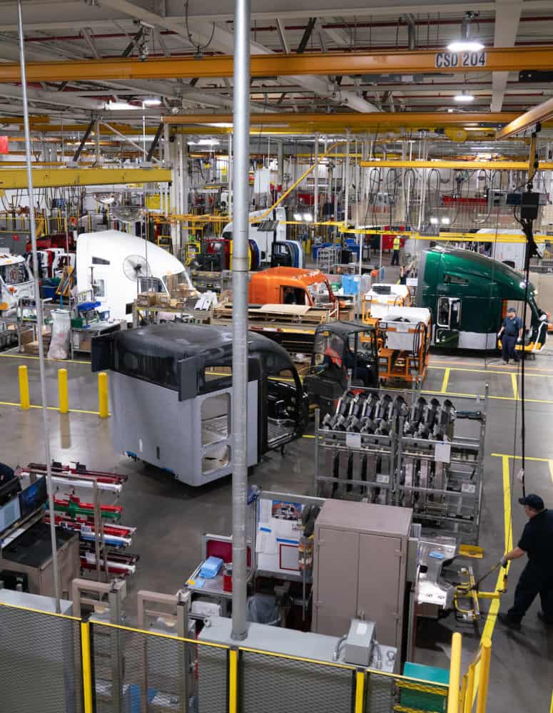 Manufacturing shopfloor