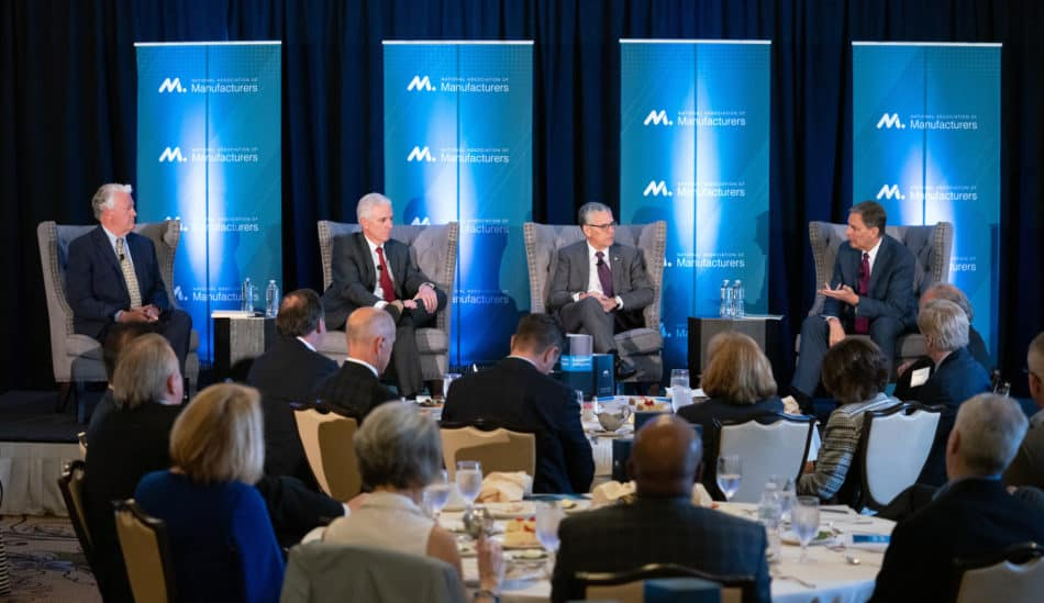 In Pittsburgh, Charles Wetherington, NAM Small and Medium Manufacturers Group chair and president of BTE Technologies, LLC; Rick Schostek, executive vice president of Honda North America, Inc.; and Michael McGarry, chairman and CEO of PPG Industries, headline the Executive Insights Series forum.