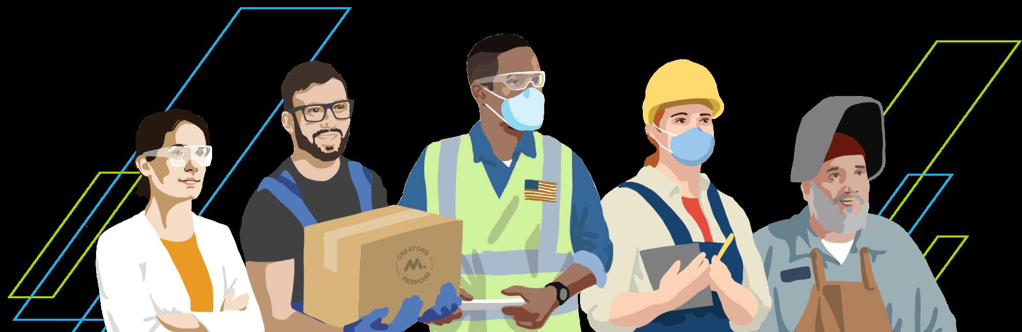 Illustration of manufacturers